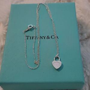 Tiffany Return to Tiffany Mini Lock Necklace